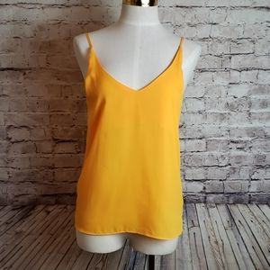 EUC Stella Luce Yellow Cami Sz M